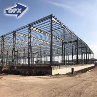 Buy cheap painting or hot galvanized light steel structure building prefabricated warehouse for construction from wholesalers