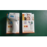 Wholesale White Lcd Display Tricolor Backlight Digital Infrared Thermometer Body Temerature Test from china suppliers