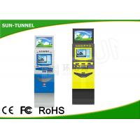 Wholesale Multi - Language Outdoor Information Kiosk , SAW Touch Self Service Mail Kiosk from china suppliers