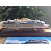 Buy cheap Woodiness Passenger Ship Models Royal Caribbean Anthem Of The Seas Shaped from wholesalers