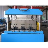Wholesale Metal Floor Deck Roll Forming Machine , Skyscrapers Field Sheet Metal Roll Former from china suppliers