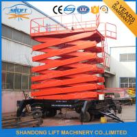 Wholesale Hydraulic Mobile Platform Lift with 500kg Loading Capacity 12m Lifting Height from china suppliers