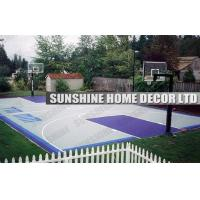 Buy cheap Polypropylene Basketball Court Interlocking Sports Flooring With Multi Purpose from wholesalers