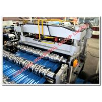 Buy cheap Aluminum Corrugating Roof Tile Roll Forming Machine for Traditional Normal Step Tile Roofing Sheet from wholesalers