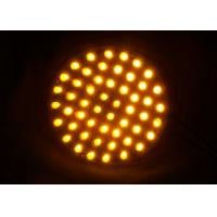 Wholesale Dia.100mm Traffic Arrow Boards PC Material UV Proof Wired Powered Warning Lights from china suppliers