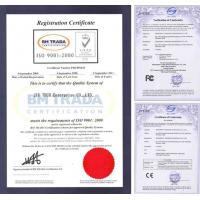JIU TECH Enterprise Co., Ltd Certifications