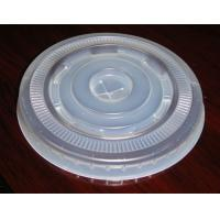 Wholesale HIPS Semi Clear Disposable Cup Lids For Diameter 90mm Cups Cover from china suppliers