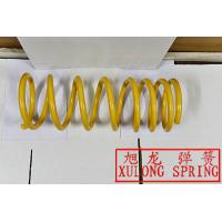 powder coating cold wound steel front suspension springs for truck