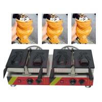 New Taiyaki maker with open mouth Ice Cream Taiyaki grill
