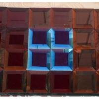 Wholesale spell mirror decorative mosaic glass colorful mosaic glass puzzle from china suppliers