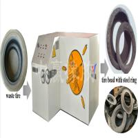 Wholesale Eco-friendly automatic waste rubber (tire) regeneration line tire cutting machine tire shredder tire crusher from china suppliers