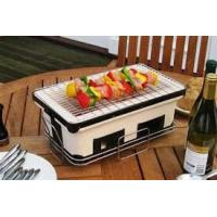Wholesale ST25 BBQ home use Barbecue Set Japanese charcoal ceramic BBQ grill from china suppliers