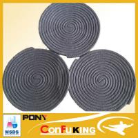 Buy cheap 140MM Plant fiber material poweful effect 10hours burning mosquito coil from wholesalers