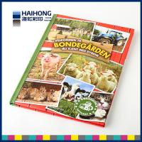Buy cheap A3 format / 2100g greyboard Hardcover Book Printing / matte coating / cover from wholesalers
