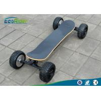 Buy cheap High Speef Off Road Electric Skateboard With Two Brushless Motor , 2000 Watt 48V from wholesalers