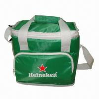 Wholesale Cooler Bag with PEVA Lining, Made of 420D Polyester and 5mm Foam Padded, Keeps Warm and Cool  from china suppliers
