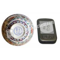 Wholesale Perspective Ceramic Casino Magic Dice Bowl With Video Phone See from china suppliers