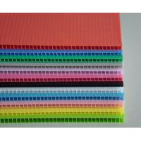 Wholesale 3mm 5mm 10mm Corflute Board , weatherproof 4 x 8 corrugated plastic sheets from china suppliers