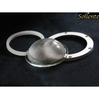 Wholesale Anti Glare Glass LED Light Lens With Silicone Gasket Aluminum Ring from china suppliers