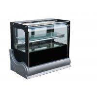 Wholesale Bakery Store Cake Display Freezer  / Bread Sandwich Showcase Chiller Cabinet Upright Vertical Curved from china suppliers