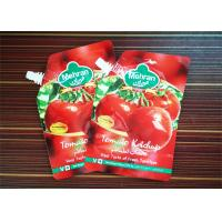 Wholesale Flexible Packaging Stand Up Bags With Spout Tomato Sauce Packaging Bag With Spout from china suppliers