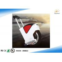 Wholesale Electric Unicycle Scooter Hoverboard with adjust handle bar from china suppliers