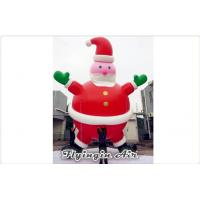 Wholesale PVC Inflatable Christmas Santa Inflatable Helium Balloon for Holiday from china suppliers