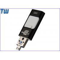 Buy cheap USB 3.0 3IN1 16GB Pendrive Stick OTG Storage Disk Double Side Sliding from wholesalers