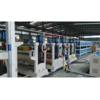 Wholesale Two roller ACP Production Line 95mm 75mmTwin Screw Diameter For Aluminum Plate from china suppliers
