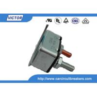 Wholesale 12V / 24V 30A 40A 50A Manual Reset Circuit Breaker , Single Phase Motor Protection from china suppliers