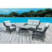 Wholesale Outdoor Rattan Garden Furniture Sets With Cushion , Rattan Table And Chairs from china suppliers