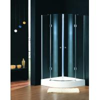 Wholesale Lodge Showers Bathrooms Shower Stalls , Quadrant Shower Units With Foldable Hinges from china suppliers