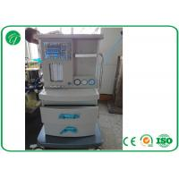 Wholesale 5 Tubes Flow Meter Mobile Anesthesia Machine , Anesthesia Gas Machine Oxygen Probe from china suppliers