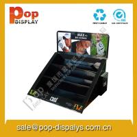 Wholesale Table Top Cardboard Counter Display Stands Black Customized from china suppliers