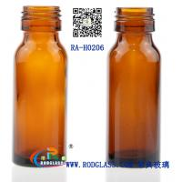 Quality 20ml amber glass bottle for syrup for sale