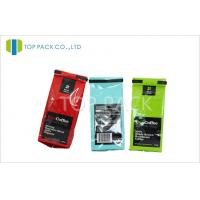 Wholesale Customized Printed Stand Up Pouch Packaging With Tin Tie for Coffee from china suppliers