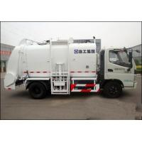 Wholesale 10cbm Trash Compactor Truck High Pressure Cleaning 18mpa , Total Weight 16000kg from china suppliers