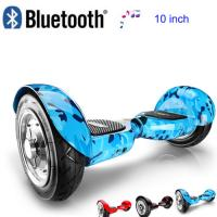 Wholesale 10 inch Self Balancing Electric Scooter with bluetooth speaker from china suppliers