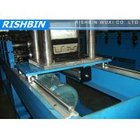 Buy cheap 0.7 - 1.2 mm Thickness Top Hat Channel Roll Forming Machine with Hydraulic Cutting from wholesalers