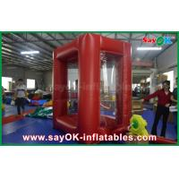 Wholesale 2x2 m Cash Grab Machine Inflatable Money Booth With PVC Material from china suppliers
