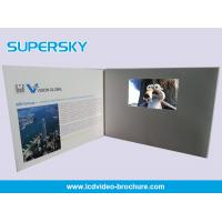 Wholesale Multi Player Automatic Video Gift Card Video Leather Production Business Cards from china suppliers