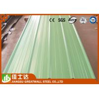 Wholesale Pre Painted Zinc Metal Corrugated Roofing Sheets Waterproof 0.23 - 1.2mm Thickness from china suppliers