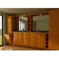 Wholesale Wood / Bamboo Modern Bathroom Cabinets Vanities Satin Surface from china suppliers