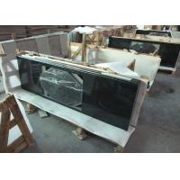 Wholesale Absolute Black Granite Vanity Top , 2cm Thick Natural Solid Surface Vanity Tops from china suppliers
