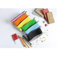 Wholesale Free sample China factory panel pixel yellow silicone pencil case cheap price from china suppliers