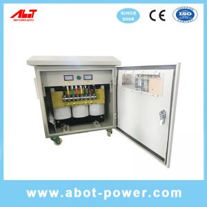 Wholesale ABOT Outdoor Use Waterproof IP65 Copper Wire 220V to 380V Step Up Isolation Transformer 80KVA from china suppliers