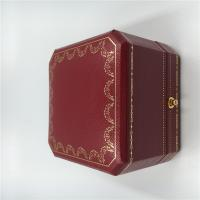 Wholesale France Cartier Small Necklace Box Cartier Necklace Jewelry Velvet Gift Box Package with Certificate from china suppliers