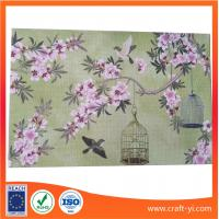 Wholesale Kitchen & Table Table Mat Heat Insulation coasters in printing Textilene fabric from china suppliers