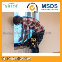 Wholesale Durable PE Glass Protective Film For Window Construction Environmentally from china suppliers