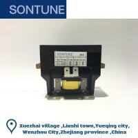 Fixed Air Conditioner Compressor Contactor , Three Phase Magnetic Contactor